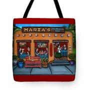 Maria's New Mexican Restaurant Tote Bag by Victoria De Almeida