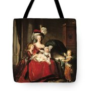 Marie Antoinette And Her Children Tote Bag by Elisabeth Louise Vigee-Lebrun