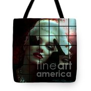 Marilyn 128 Tryp  Tote Bag by Theo Danella