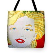 Marilyn Tote Bag by Ethna Gillespie