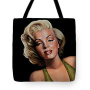 Marilyn Monroe 2 Tote Bag by Paul Meijering