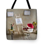 Marshmallow Masterpiece Tote Bag by Heather Applegate