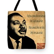 Martin Luther King Jr 1 Tote Bag by Andrew Fare