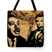 Martin Luther King Jr 2 Tote Bag by Andrew Fare