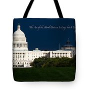 Martin Luther King Jr. Tote Bag by Doug Sturgess