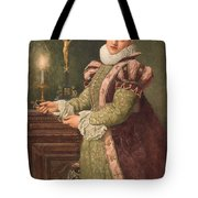 Mary Queen of Scots Tote Bag by Sir James Dromgole Linton