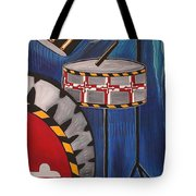 Maryland Drums Tote Bag by Kate Fortin