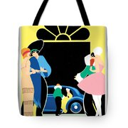Masked Ball Tote Bag by Brian James