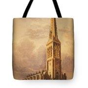Masonry Church Circa 1850 Tote Bag by Aged Pixel