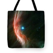 Massive Star Makes Waves Tote Bag by Adam Romanowicz