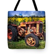 Mccormick Deering Tote Bag by Debra and Dave Vanderlaan