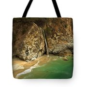Mcway Into The Pacific Tote Bag by Adam Jewell