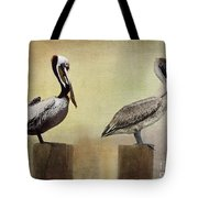 Me And My Missus Tote Bag by Betty LaRue