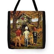 Meadow Haven Tote Bag by Linda Simon