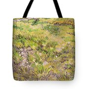 Meadow with Butterflies Tote Bag by Vincent Van Gogh