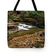 Meandering Waters Tote Bag by Christina Rollo