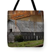 Measure Of Time Gone By Tote Bag by Liane Wright