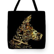 Mechanical - Dog Tote Bag by Fran Riley