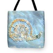 Mechanical - Snail Tote Bag by Fran Riley