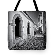 Medieval Sephardi Synagogue Tote Bag by Jose Elias - Sofia Pereira