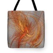 Medusa Bad Hair Day - Fractal Tote Bag by Menega Sabidussi