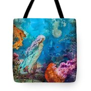 Medusa's Garden Tote Bag by Mo T