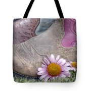 Megaboots Tote Bag by Joan Carroll