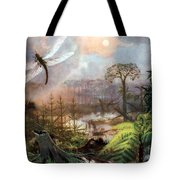Meganeura In Upper Carboniferous Tote Bag by Science Source