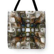 Memory Boxes-fractal Art Tote Bag by Karin Kuhlmann