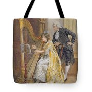 Memorys Melody Tote Bag by George Goodwin Kilburne