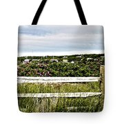 Menemsha Memories Tote Bag by Michelle Wiarda