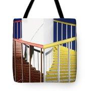 Merging Steps Tote Bag by Robert Woodward