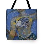 Mermaid Tote Bag by Avonelle Kelsey