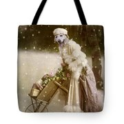Merry Christmas Tote Bag by Martine Roch