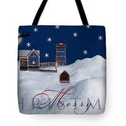 Merry Christmas Tote Bag by Susan Candelario