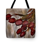 Mes Tulipes Tote Bag by Aimelle