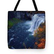 Mesa Falls Tote Bag by Raymond Salani III