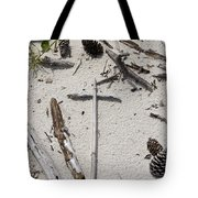 Message In The Sand Tote Bag by Benanne Stiens