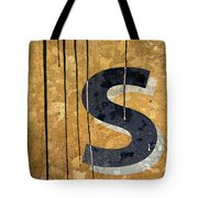 Messy S Tote Bag by Carol Leigh