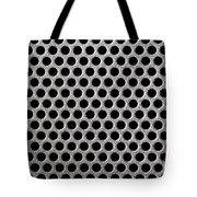Metal Grill Dot Pattern Tote Bag by Simon Bratt Photography LRPS