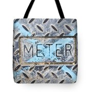 Meter Cover Tote Bag by Tom Gowanlock