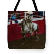 Mexican Cowboy July 4th Rodeo Chandler Arizona 1999 Tote Bag by David Lee Guss