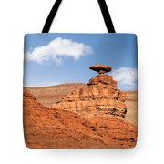 Mexican Hat Rock Tote Bag by Christine Till