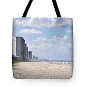 Mexico Beach Coastline Tote Bag by Kenny Francis