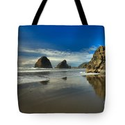 Meyers Creek Beach Tote Bag by Adam Jewell