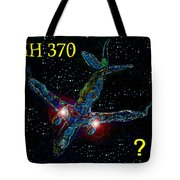 Mh 370 Mystery Tote Bag by David Lee Thompson