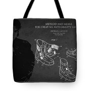 Michael Jackson Patent Tote Bag by Aged Pixel
