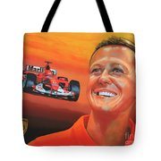 Michael Schumacher 2 Tote Bag by Paul Meijering