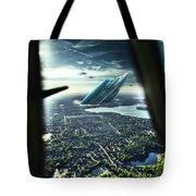 Michigan 2050 Tote Bag by Nicholas  Grunas