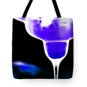 Midnight Blue Margarita Breeze Tote Bag by Wingsdomain Art and Photography
